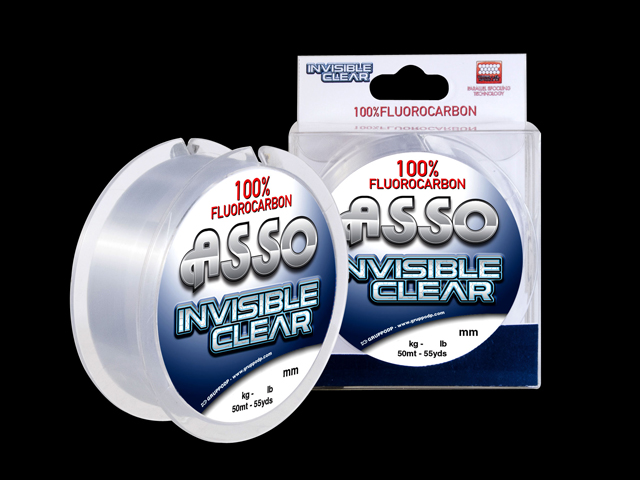 Linha FluorCarbono Asso Invisible Clear