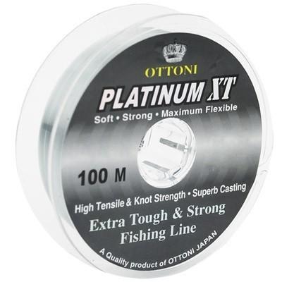 Linha Monofilamento Ottoni Platinum XT - 100m