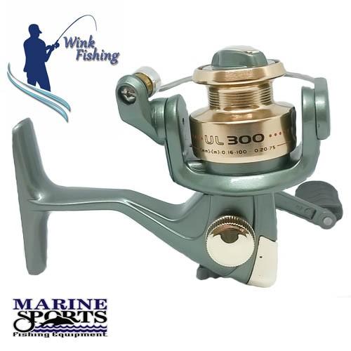 Micro Molinete Marine Sports Ultra Light 300 - ótimo custo benefício