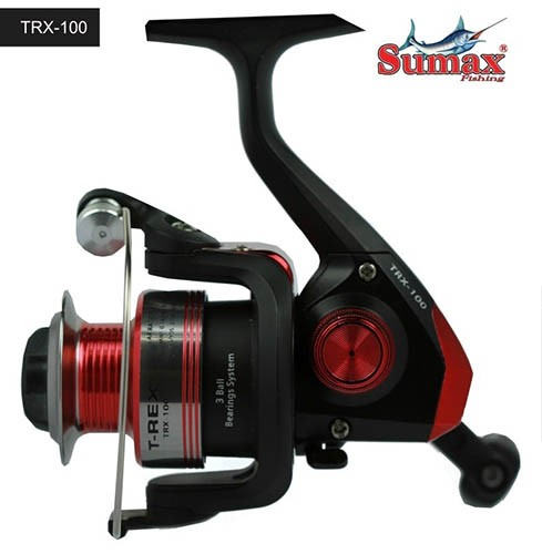 Micro Molinete Sumax T-Rex - TRX-100 - Ultra Light - Carretel em alumínio