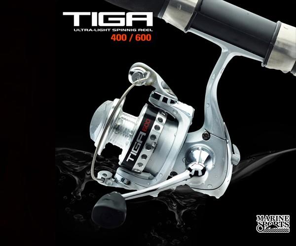 Molinete Marine Sports Tiga 600 - Ultra Light - Pesca Leve - Ótima versatilidade