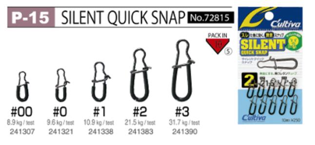 Snap Owner Cultiva Silent P-15 72815 n°#00-8,9kg c/10