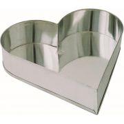 Forma Coração Nº 1 - 23 x 24.5 x 5.5 cm - Flandres
