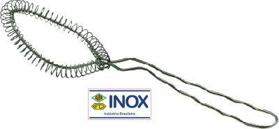 Batedor de Arame Inox Tipo Colher