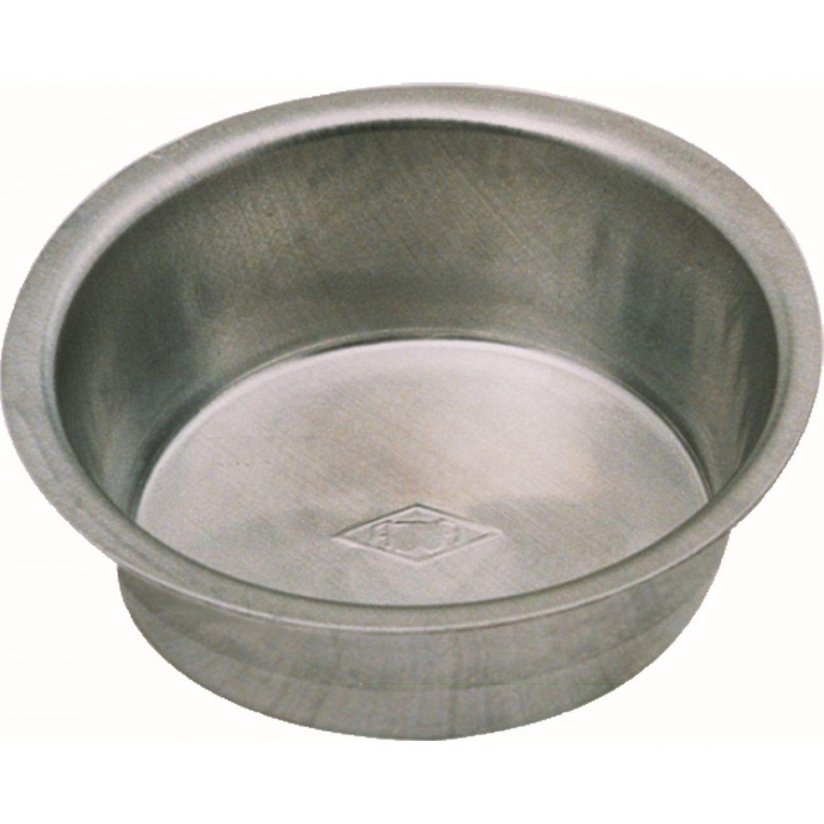 Forminha Redonda Lisa - 6.5 x 2 cm - C/12 Un. - Alumínio