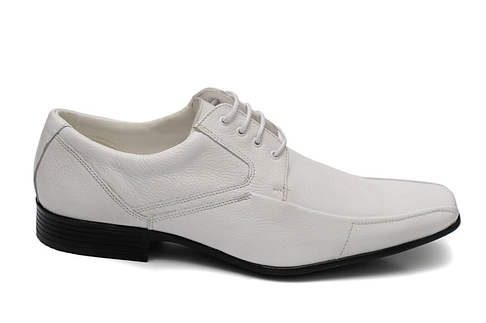 24690ff92 Sapato Social Masculino 31120 Branco