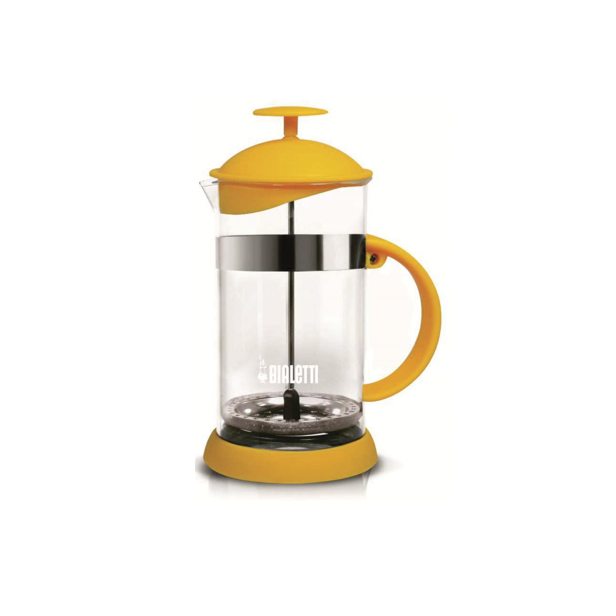 CAFETEIRA FRENCH PRESS 1L BIALETTI AMARELA