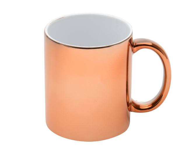 CANECA DE PORCELANA LUMINUS BRONZE 325ml