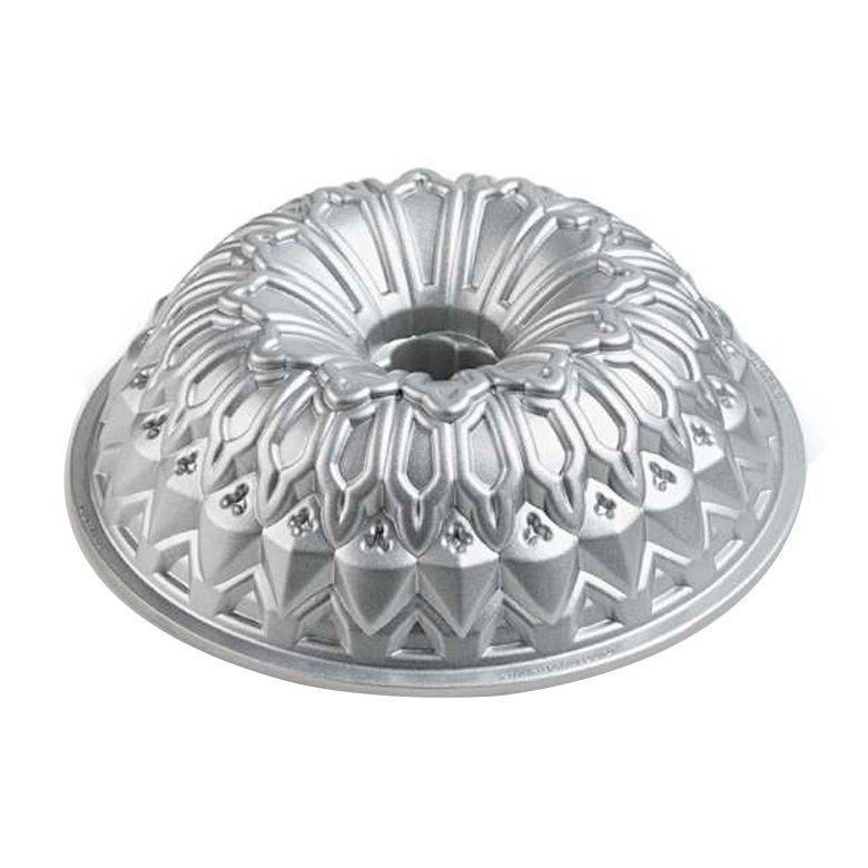FORMA ANTIADERENTE PARA BOLO SILVER STAINED - NORDIC WARE