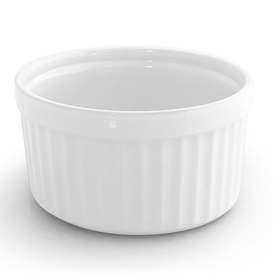 FORMA SOUFLE 14CM GOURMET WHITE JOMAFE