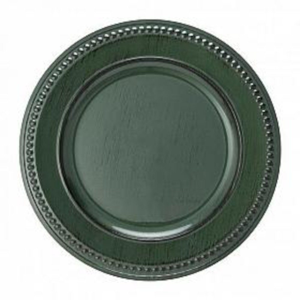 SOUSPLAT VERDE GALLES DOTS ANTIQUE