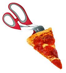 TESOURA PARA CORTAR E SERVIR PIZZA