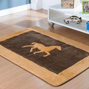 Passadeira Infantil Premium Horse Café 1,20m x 74cm