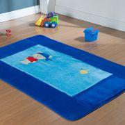 Passadeira Infantil Premium Pirata Azul Royal 1,20m x 74cm