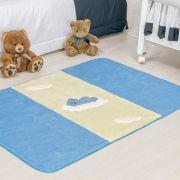 Passadeira Infantil Premium Urso Baby Azul Turquesa 1,20m x 74cm