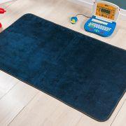Passadeira Premium Lisa Azul Marinho 1,20m x 74cm