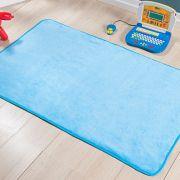 Passadeira Premium Lisa Azul Turquesa 1,20m x 74cm
