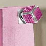 Ponteira P/ Varão Espelho Pink 28Mm