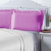 Porta Travesseiro Avulso Pink Microfibra 01 Peça