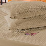 Protetor de Travesseiro Avulso Impermeável Caqui Micromatelado 01 Peça
