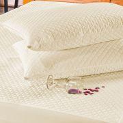 Protetor de Travesseiro Avulso Impermeável Palha Micromatelado 01 Peça