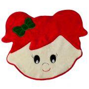 Tapete Infantil Premium Formato Menina Melancia Vermelho 72cm x 60cm