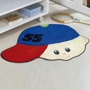 Tapete Infantil Premium Formato Menino Número Azul Royal 86cm x 65cm
