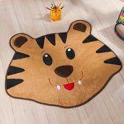 Tapete Infantil Premium Formato Tigre Caramelo 78cm x 66cm