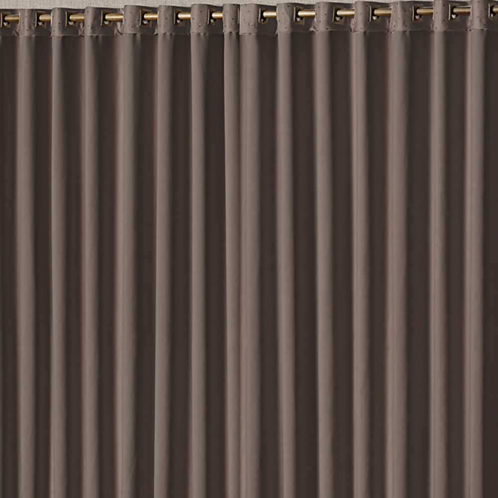 Cortina Blackout Ester Tabaco 3,00M X 2,50M
