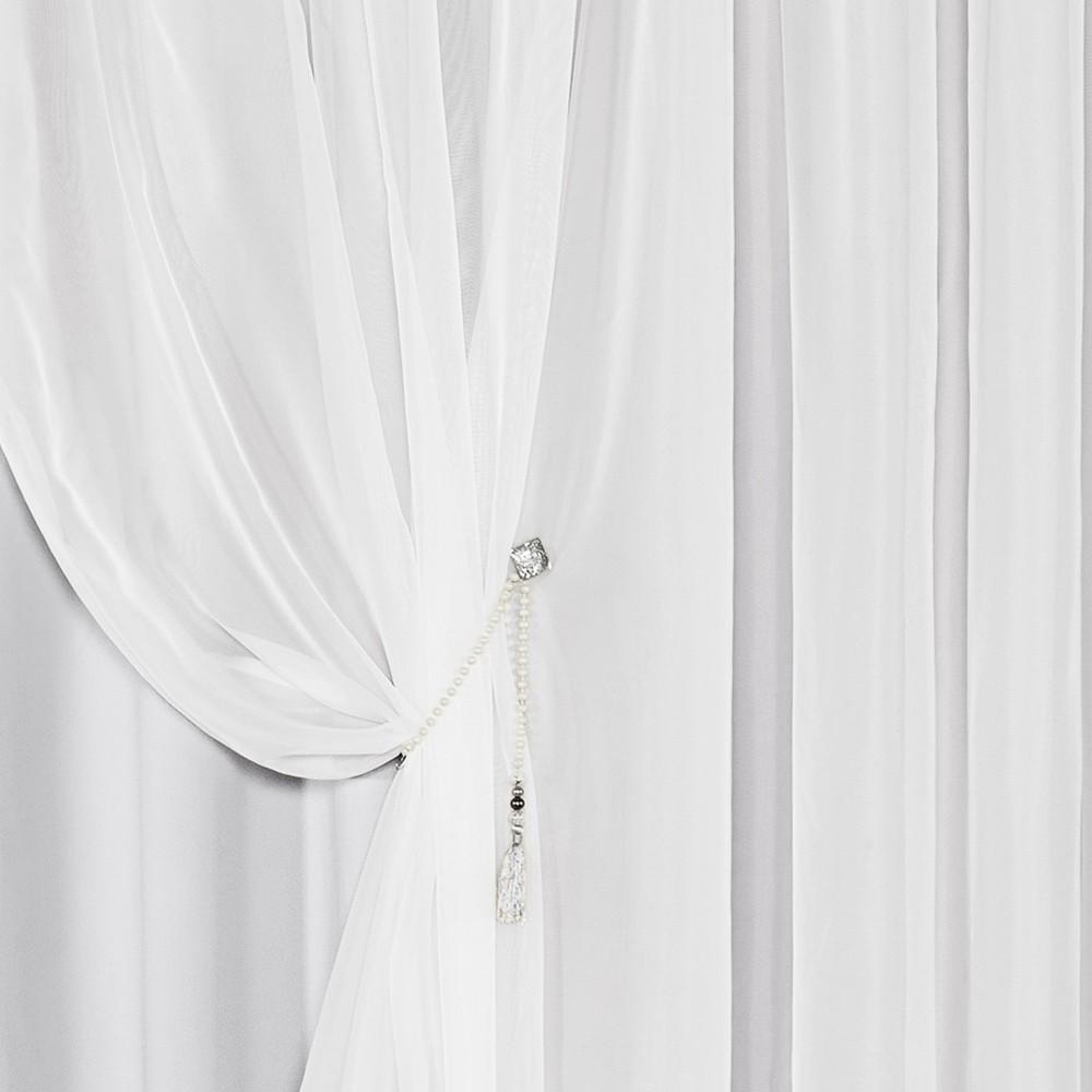 Cortina Idealle Branco 3,00M X 2,50M