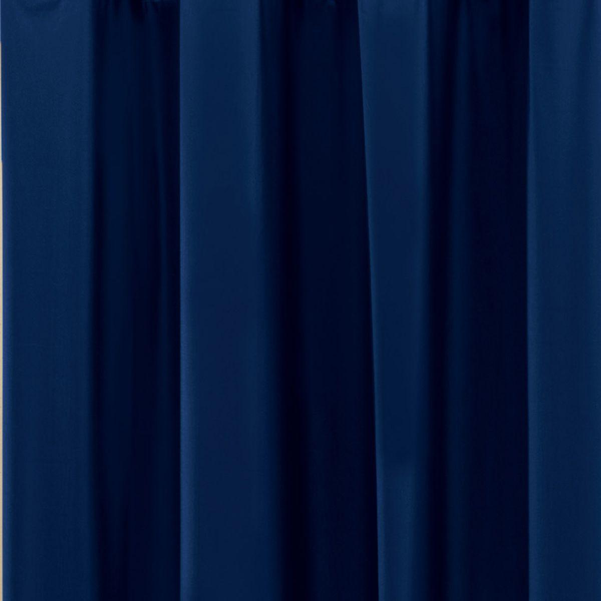 Cortina Blackout PVC Azul Marinho Corta Luz 2,20m X 1,30m