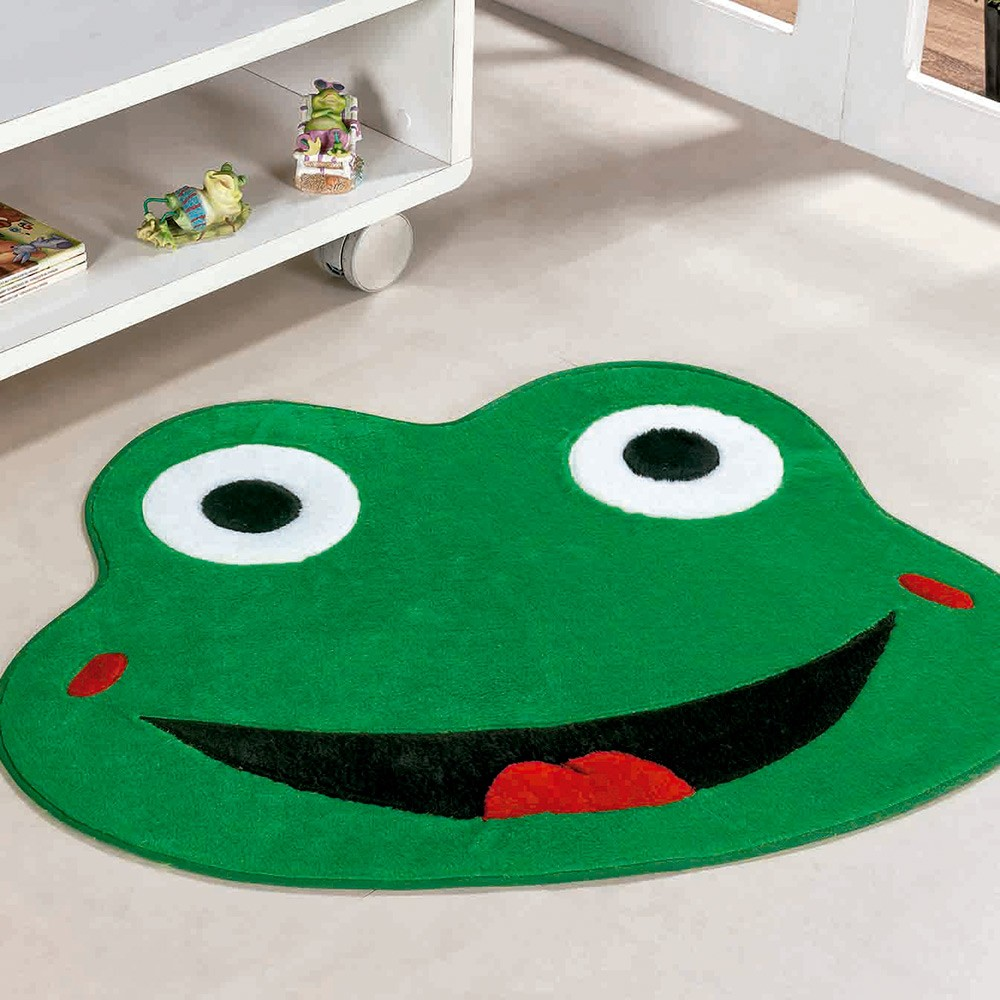 Tapete Formato Sapo Olho Verde Bandeira