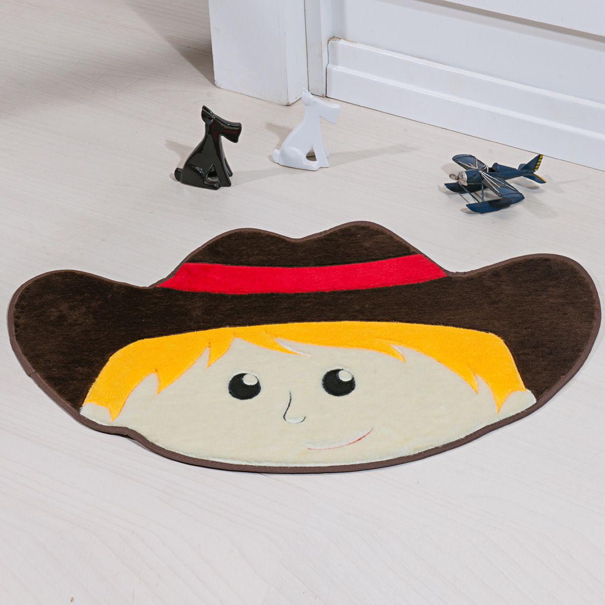 Tapete Infantil Premium Formato Cowboy Café 78cm x 55cm