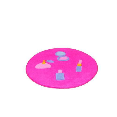 Tapete Infantil Premium Formato Maquiagem Pink 65øcm