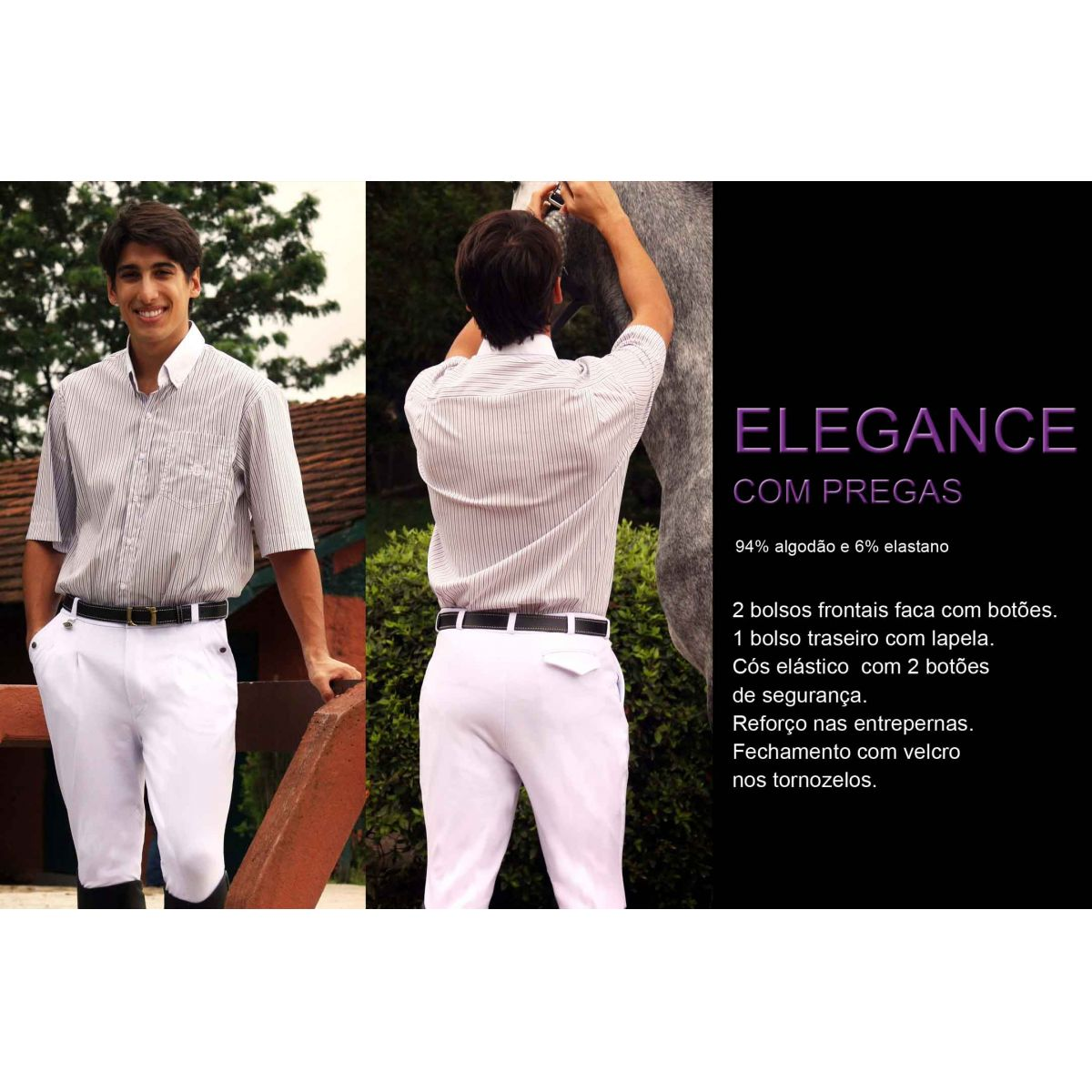 Outlet  -  ELEGANCE PREGAS  (Cotton)