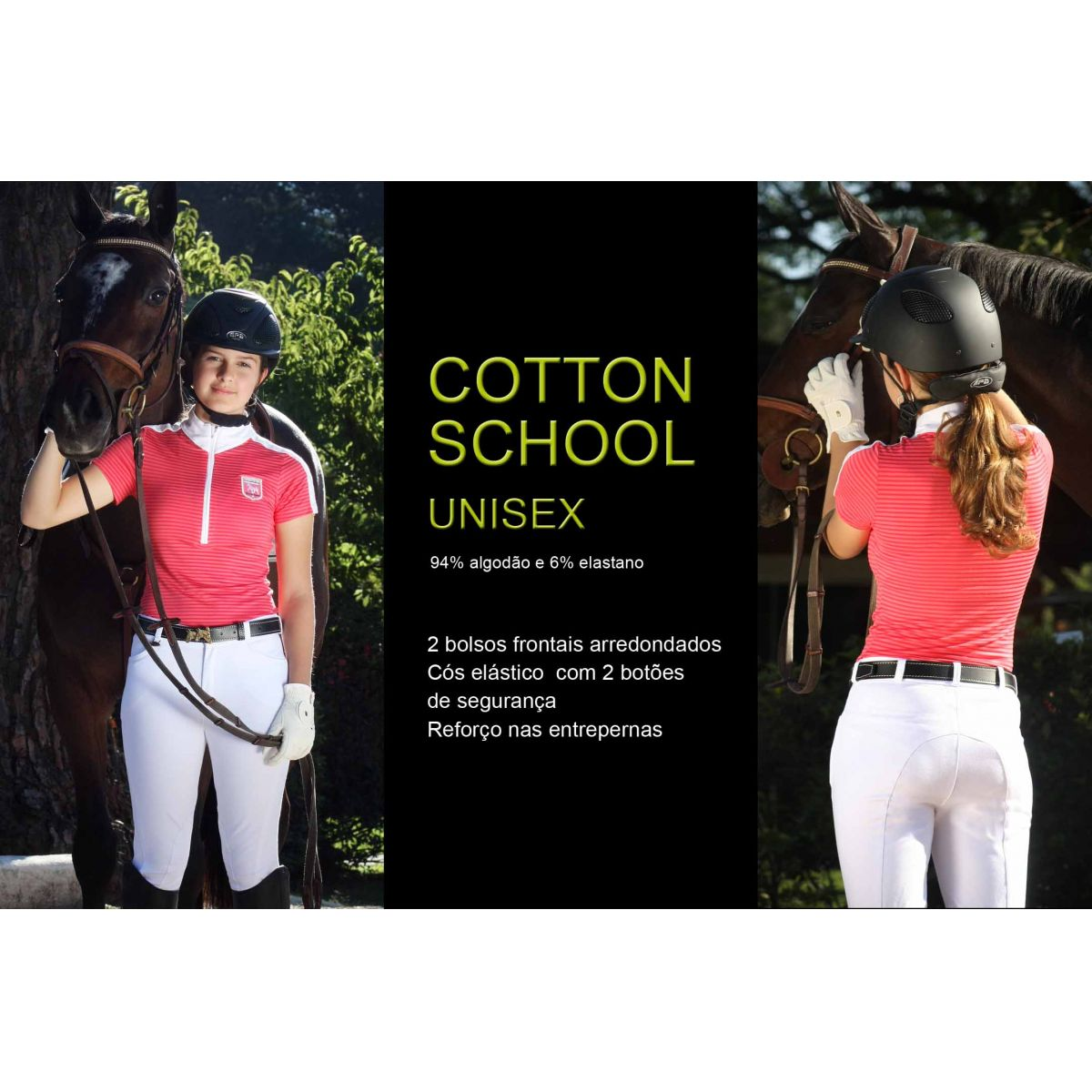 CULOTES EM COTTON - OUTLET