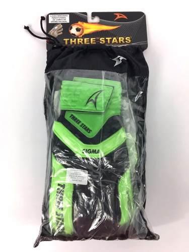 Luva De Goleiro Profissional Three Stars Sigma