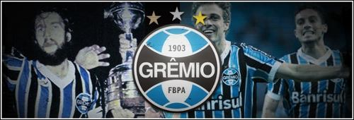 Relógio Masculino Technos Grêmio Analógico Gre2315ab/3p