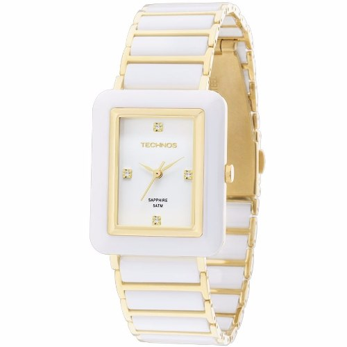 Relógio Technos Feminino Elegance Ceramic 2036lnf/4b