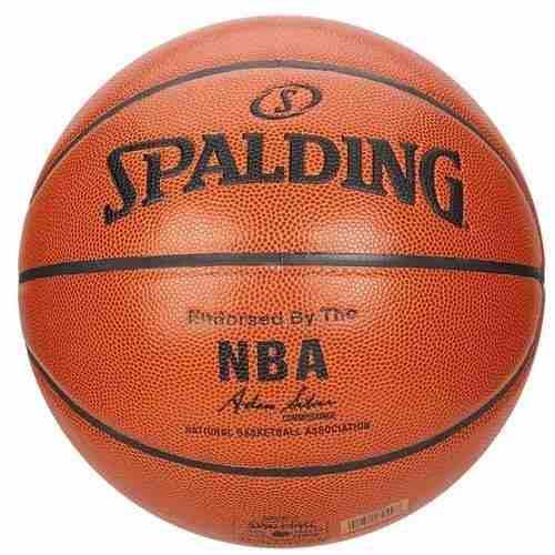 Bola De Basquete Spalding Oficial Silver Nba