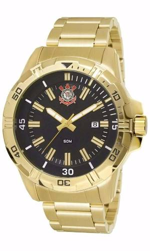 Relógio Technos Do Corinthians Cor2315ag/4p