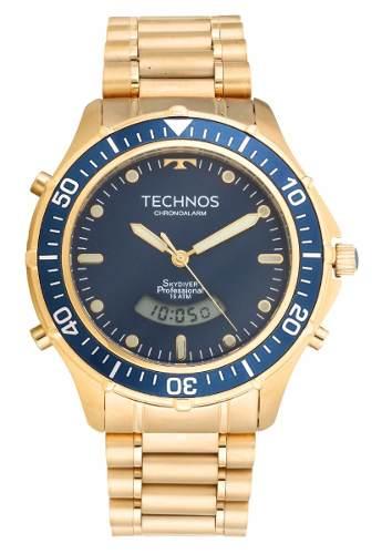 07193ce964b Relógio Technos Masculino Performance Skydiver T205iz 4a - Naná Sports