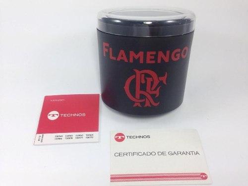 Relógio Technos Masculino Flamengo Oficial Fla8111/8p