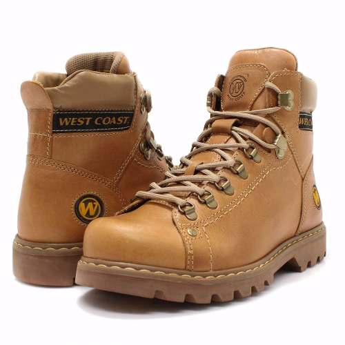 Bota West Coast Worker Classic Couro Legítimo