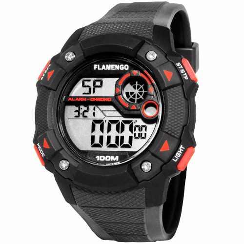 Relógio Technos Masculino Flamengo Oficial Fla1360b/8p