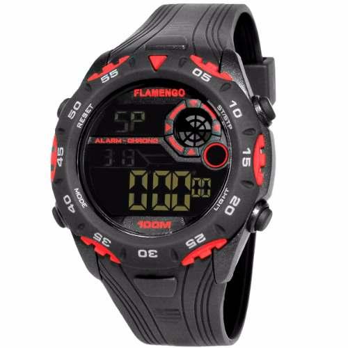 Relógio Technos Masculino Flamengo Oficial Fla1360a/8p