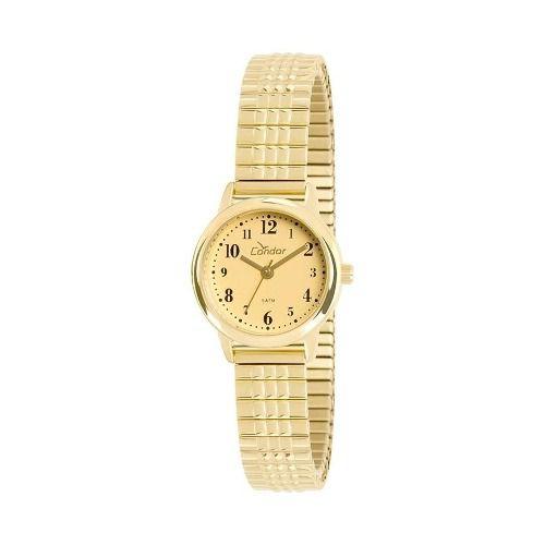 Relógio Condor Feminino Co2035ktw/4d Classico Dourado