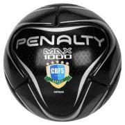 Bola De Futsal Penalty Oficial Max 1000 Profissional Black
