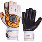 Luva De Goleiro Poker Element Pro Silver