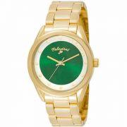 Relógio Palmeiras Technos Dourado Feminino Pal2035ac/4v
